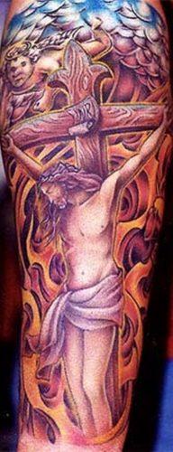tatuajes de crucifijos9