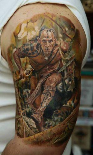 tatuajes de guerreros5