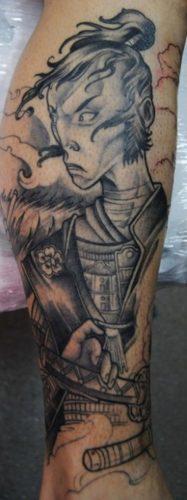 tatuajes de samurai17