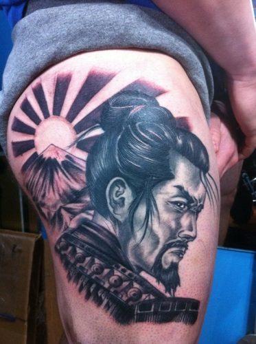 tatuajes de samurai7