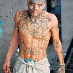 25 diseños de tatuajes de presos y cárceles