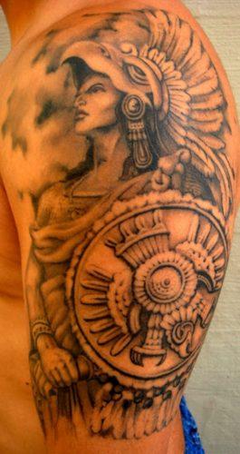 tatuajes aztecas14