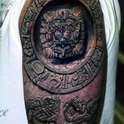 30 diseños de tatuajes aztecas para hombres