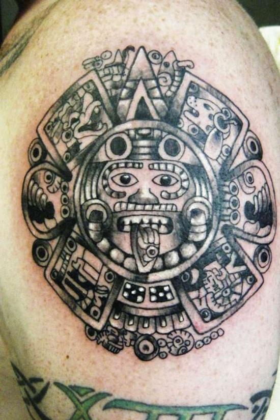 30 Disenos De Tatuajes Aztecas Para Hombres
