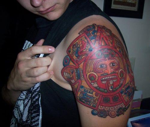 tatuajes aztecas5
