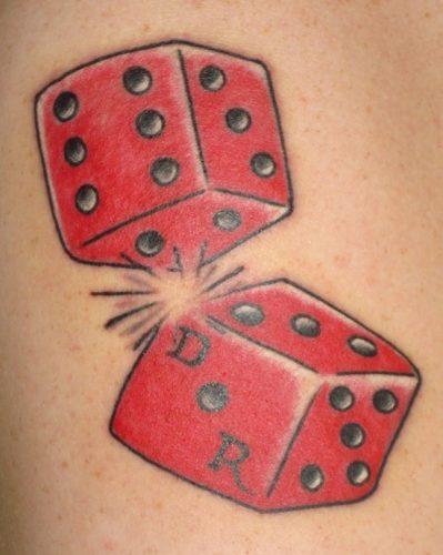 tatuajes de dados10