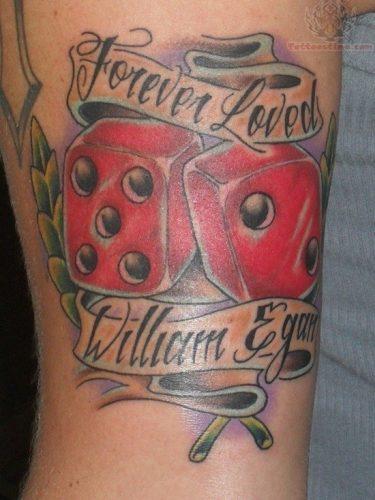 tatuajes de dados11