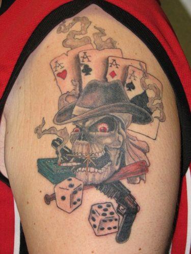 tatuajes de dados20
