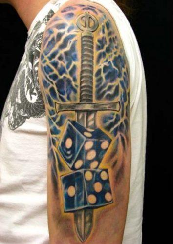 tatuajes de dados4