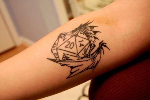 tatuajes de dados9