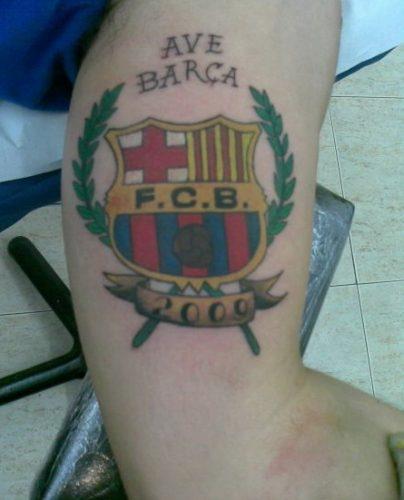 tatuajes barcelona futbol club1