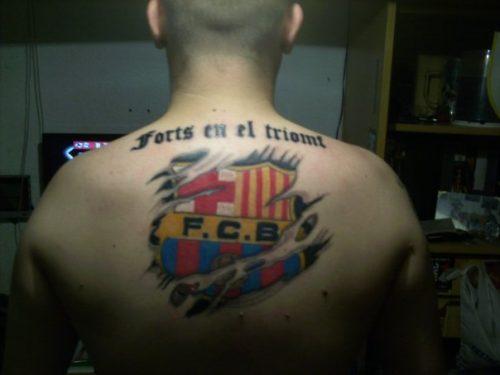 tatuajes barcelona futbol club10