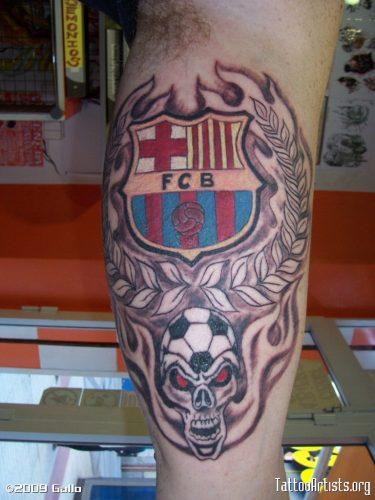 tatuajes barcelona futbol club15