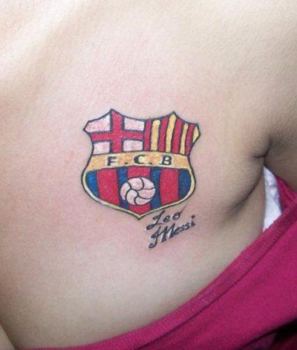 tatuajes barcelona futbol club26