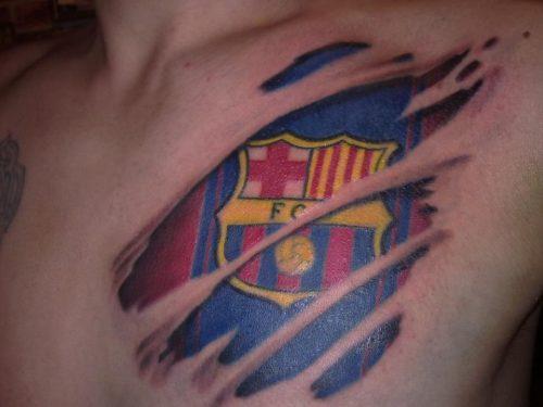 tatuajes barcelona futbol club3