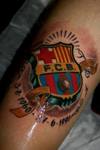 tatuajes barcelona futbol club30