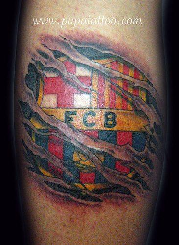 tatuajes barcelona futbol club8