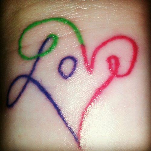 tatuajes de amor love18