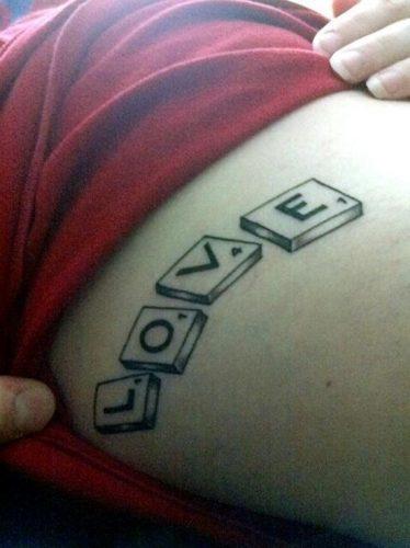 tatuajes de amor love30