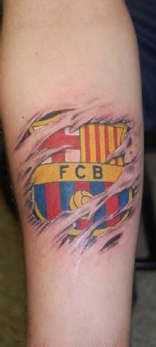 tatuajes del barcelona