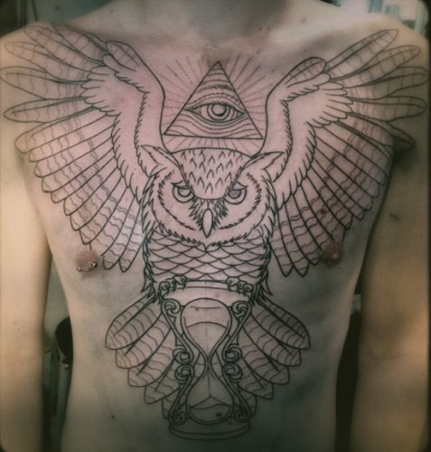 tatuajes de relojes de arena16