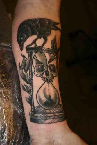 tatuajes de relojes de arena18