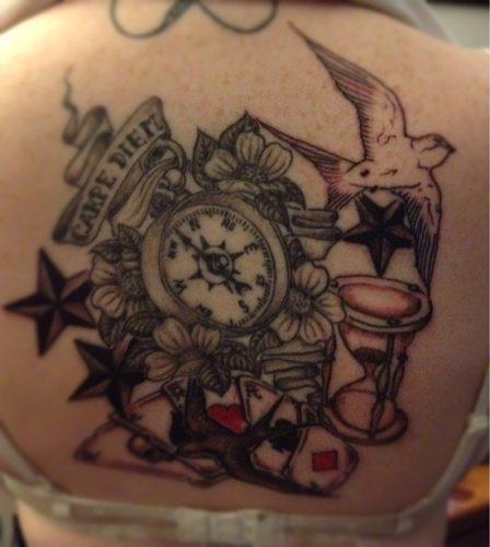 tatuajes de relojes de arena23