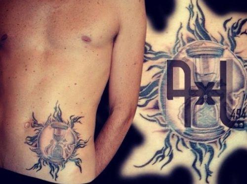 tatuajes de relojes de arena7