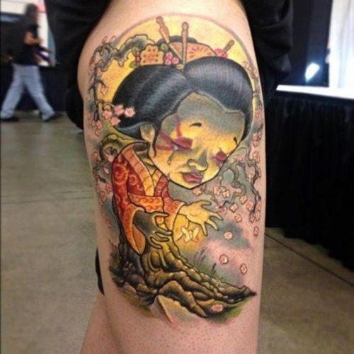 tatuajes de geishas1