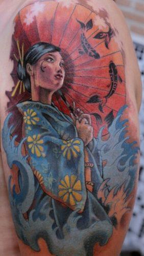 tatuajes de geishas10