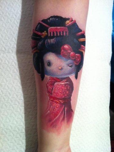 tatuajes de geishas13