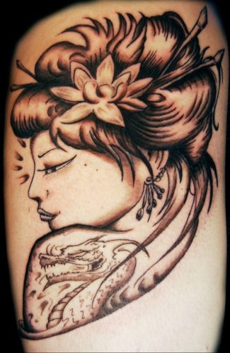 tatuajes de geishas17