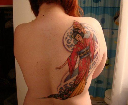 tatuajes de geishas19