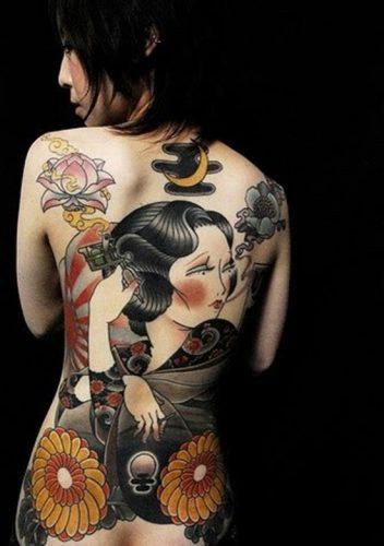 tatuajes de geishas2
