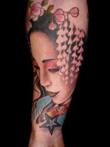 tatuajes de geishas27