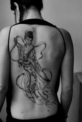 tatuajes de geishas28