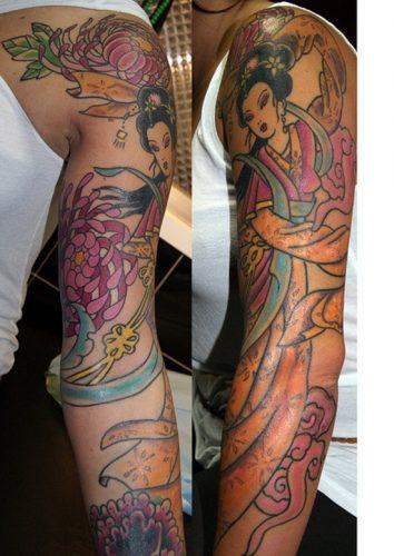 tatuajes de geishas29