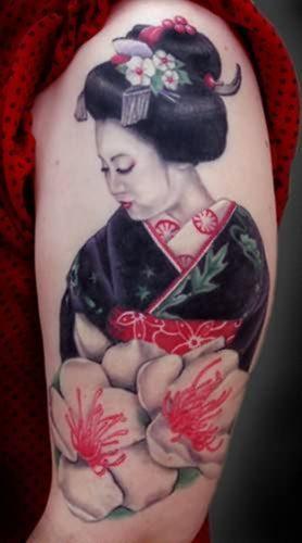 tatuajes de geishas5