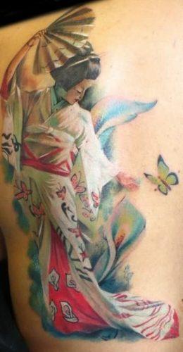 tatuajes de geishas7