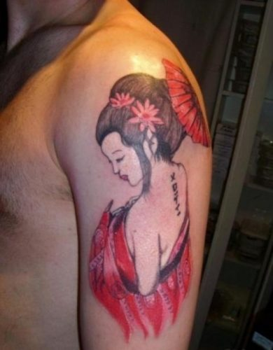 tatuajes de geishas8