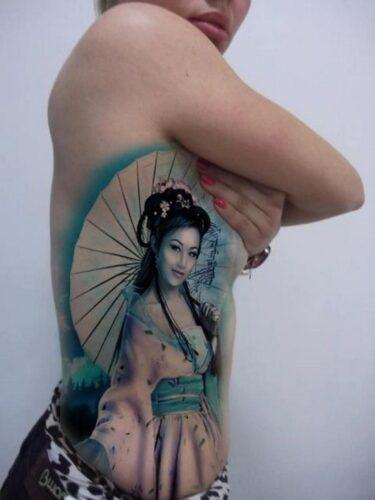 tatuajes de geishas9