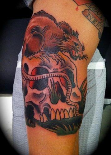 tatuajes de ratones y ratas2