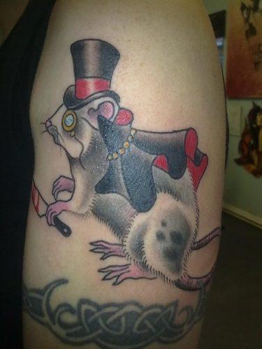 tatuajes de ratones y ratas25