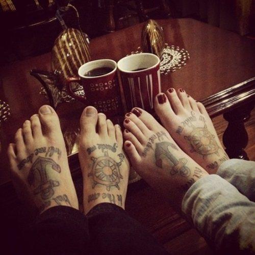 tatuajes para los pies22