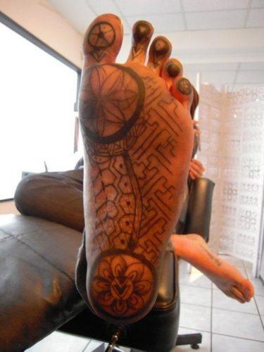 tatuajes para los pies37