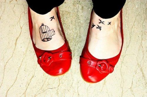 tatuajes para los pies39