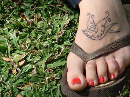 tatuajes para los pies43
