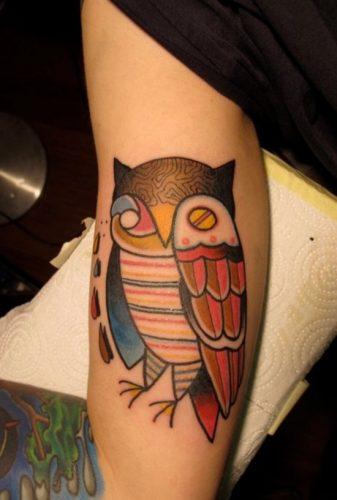 tatuajes de buhos11