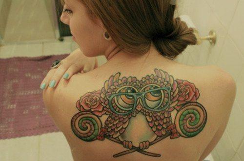 tatuajes de buhos12