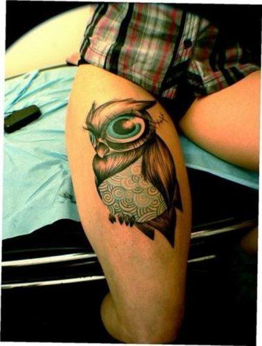 tatuajes de buhos14